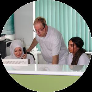 Facharzt für Frauenheilkunde und Geburtshilfe in Berlin-Friedenau Dr. med. Rottacker & Team